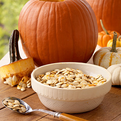 Whether you save the flesh of this year's jack-o-lantern or pick up the canned variety at the store, pumpkin is the perfect ingredient for adding festive fall flavor to sauces, soups, desserts, and even pancakes. It's so tasty that letting it go to waste is, well, scary.