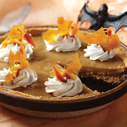 Bat Wing Butterscotch Pie