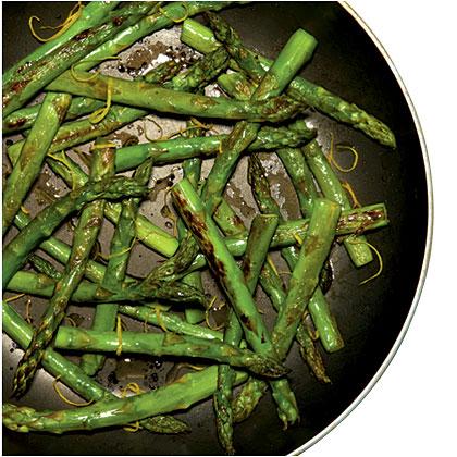 Quick Skillet Asparagus