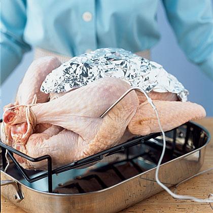Raw Turkey Roasting Pan