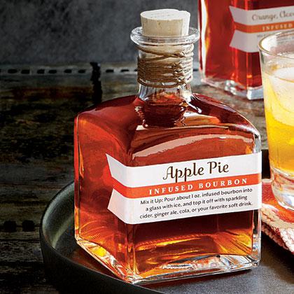 Apple Pie-Infused BourbonRecipe