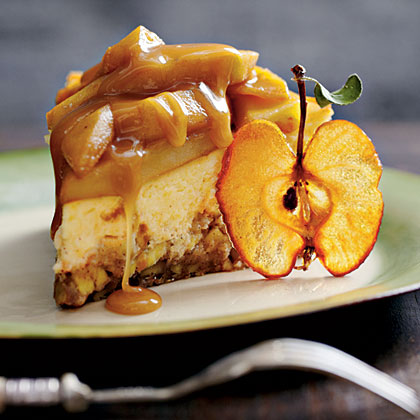 Caramel Apple-Brownie Cheesecake Recipe