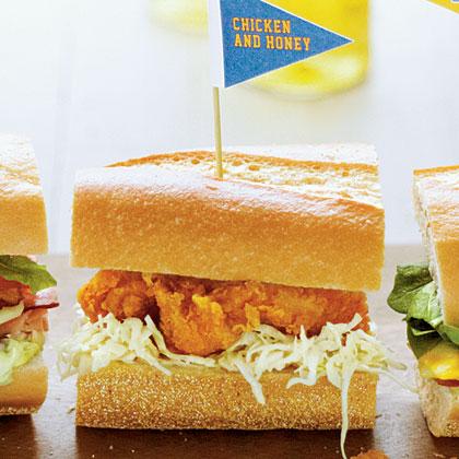 Chicken and Honey Sandwiches