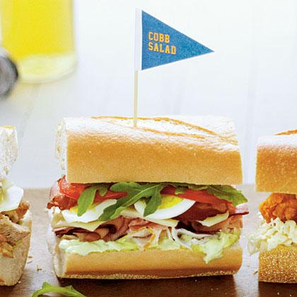 Cobb Salad SandwichesRecipe
