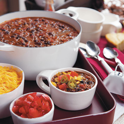 Vegetarian Black Bean Chili RecipeA classic Mississippi State tailgate is not complete without those cowbells. Ring in this mouth-watering bowl of chili to gurantee a satisfied appetite.
