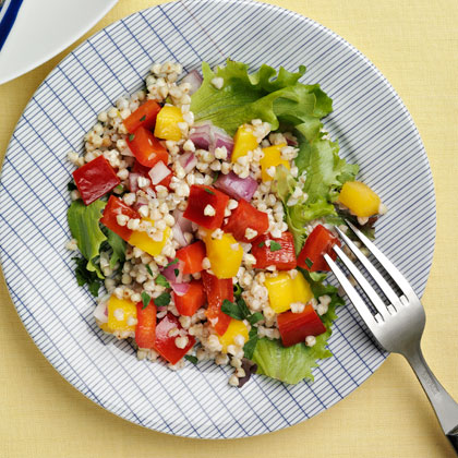 <p>Tropical Buckwheat Salad</p>