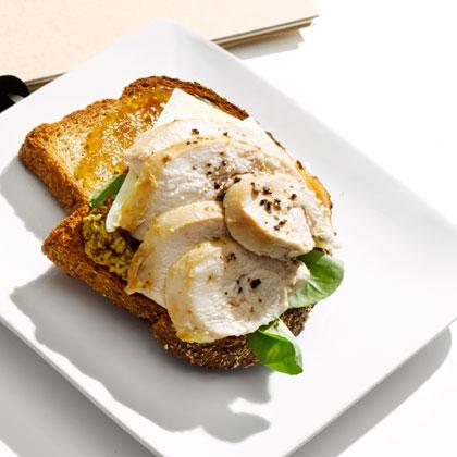Kicked-Up Turkey Sandwich