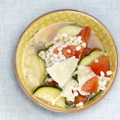 <p>Tomato-Barley Soup</p>
