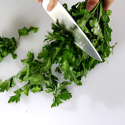 Mincing Flat-Leaf Parsley