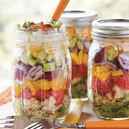 Layered Cornbread Salad Recipe