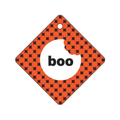 Holiday Gift Tag - Halloween Boo