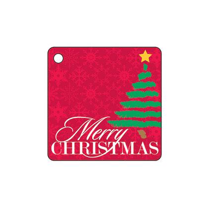 Holiday Gift Tag - Merry Christmas Tree