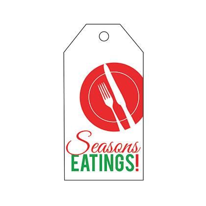 Holiday Gift Tag - Seasons Eatings