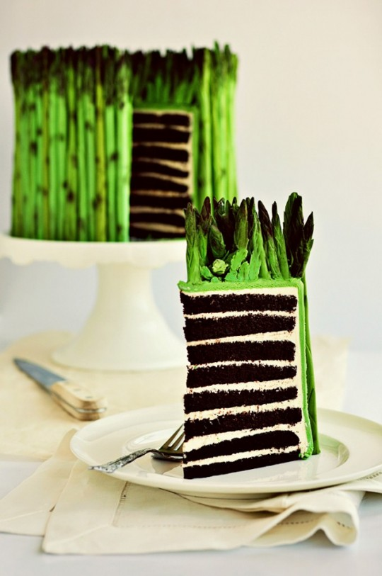 Freaky Food: Asparagus Cake
