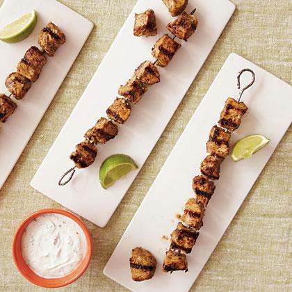 Caribbean-Spiced Chicken Kebabs Recipe