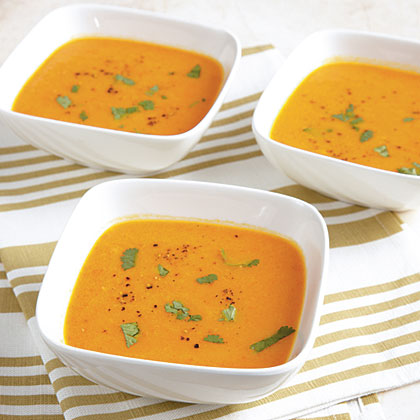 Carrot-Ginger SoupRecipe