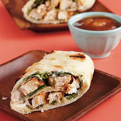 Chicken Wraps with Mango ChutneyRecipe