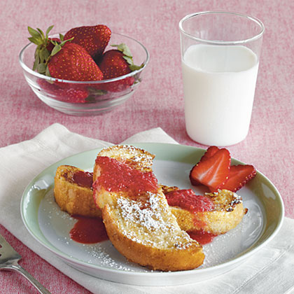 French Toast SoldiersRecipe