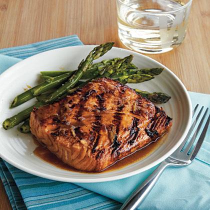 Grilled Asian Salmon Recipe