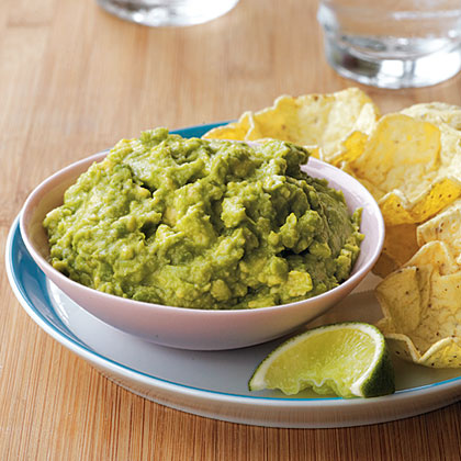 Guacamole RecipeFor all of you guacamole purists out there, this recipe is not only dairy free, it's super simple to make and is a great place to start the kids on avocados.