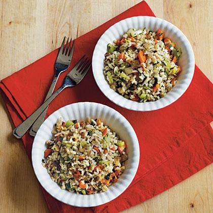 Herbed Brown Rice Pilaf