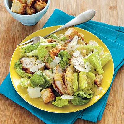 Lemon Caesar Salad Recipe