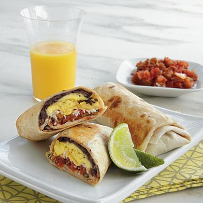 Mexican Breakfast BurritosRecipe
