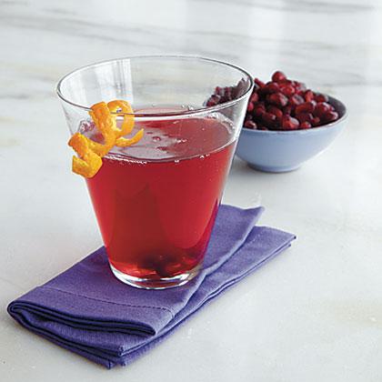 Pomegranate-Orange Martinis Recipe