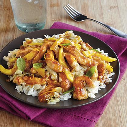 Pork and Mango Stir-FryRecipe