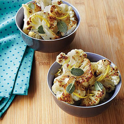 Roasted Cauliflower with Sage