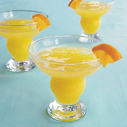 Tropical Fruit Punch RecipeThis dairy-free drink is a wonderfully refreshing snack. Orange juice, pineapple juice, and club soda are the only ingredients in this sweet treat.