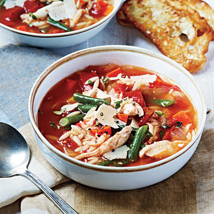 Chicken and Vegetable Soup Recipe