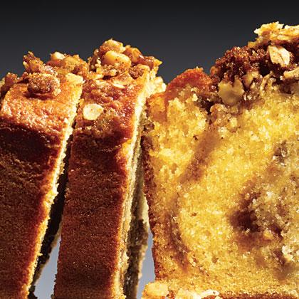 Walnut Streusel Bread