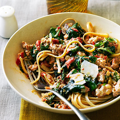 Recipe with andouille sausage and pasta