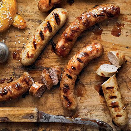Plum-Glazed Sausage