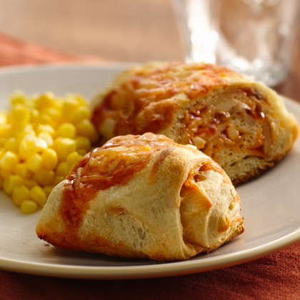 Easy Chicken Enchilada Crescent Bake