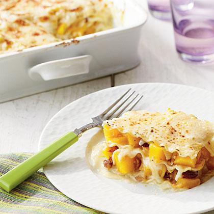 Pumpkin-Pecan Lasagna Recipe