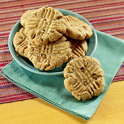 Cook the Book: Peanut Butter Cookies with Butterscotch Bits