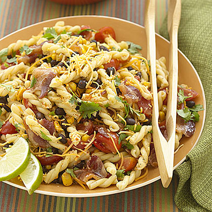 Southwestern Pasta with Bacon