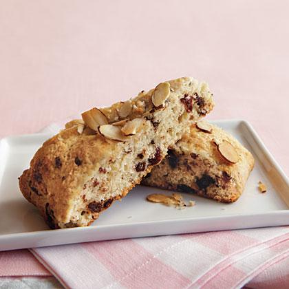 Chocolate-Cherry-Almond Scones