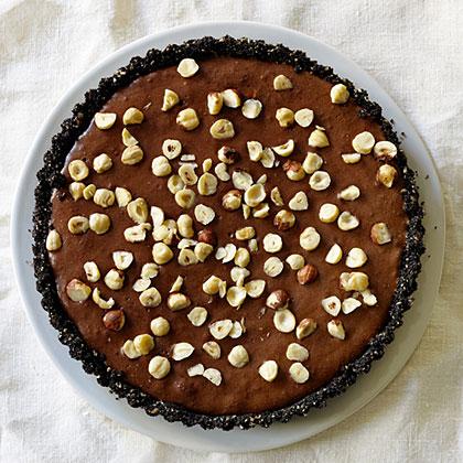 Hazelnut Chocolate Mousse Tart