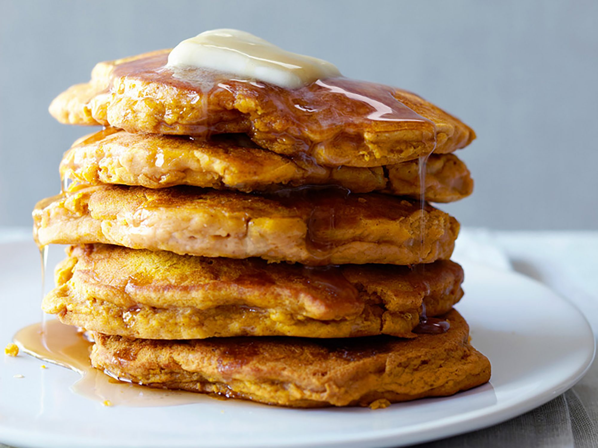 Pumpkin-Apple Pancakes