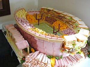 Freaky Food: Edible Football Stadiums