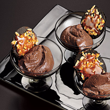 Almond-Mocha Mousse Recipe