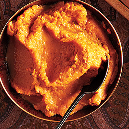 Browned Butter Bourbon Mashed Sweet Potatoes Recipe | MyRecipes