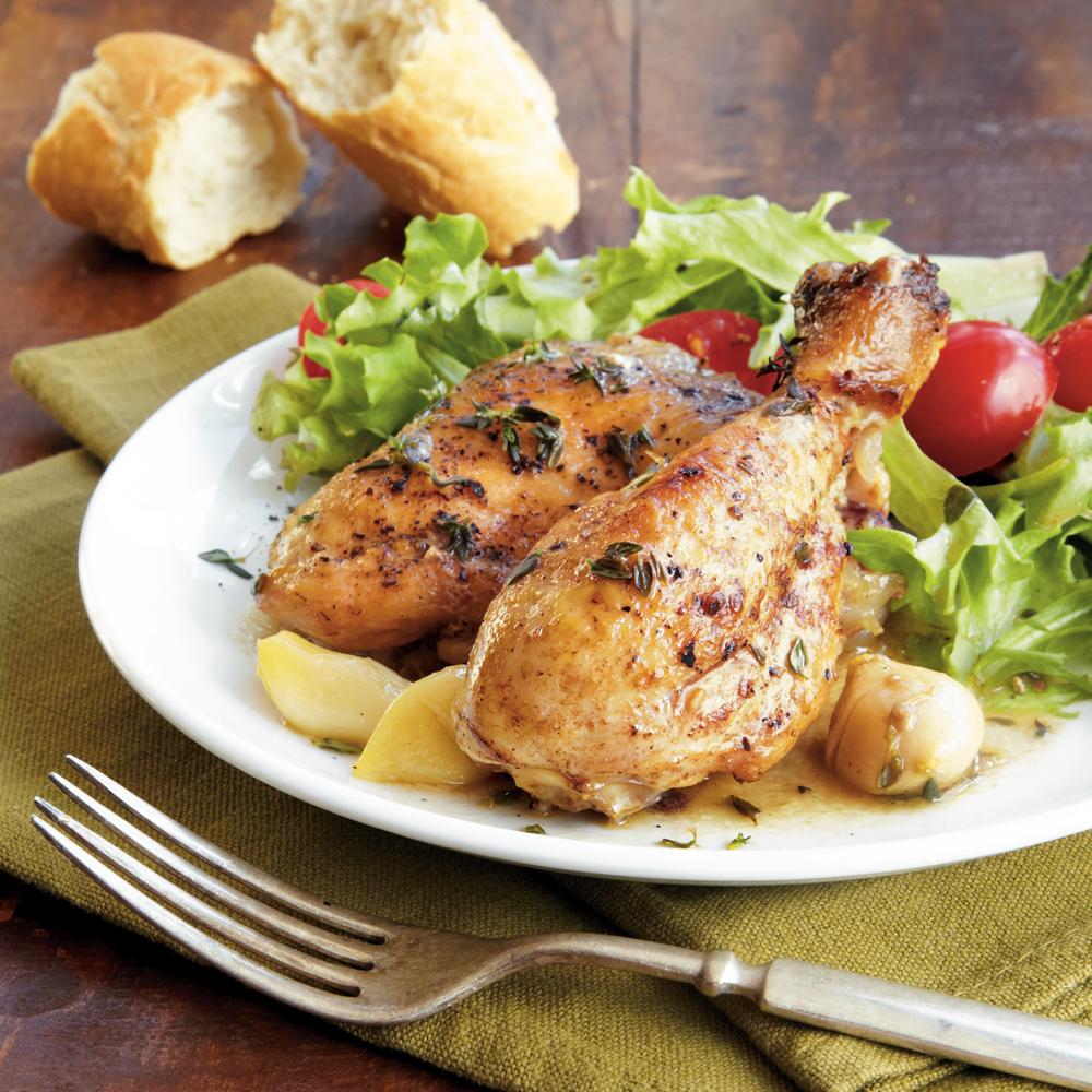 Garlic Chicken Recipe | MyRecipes