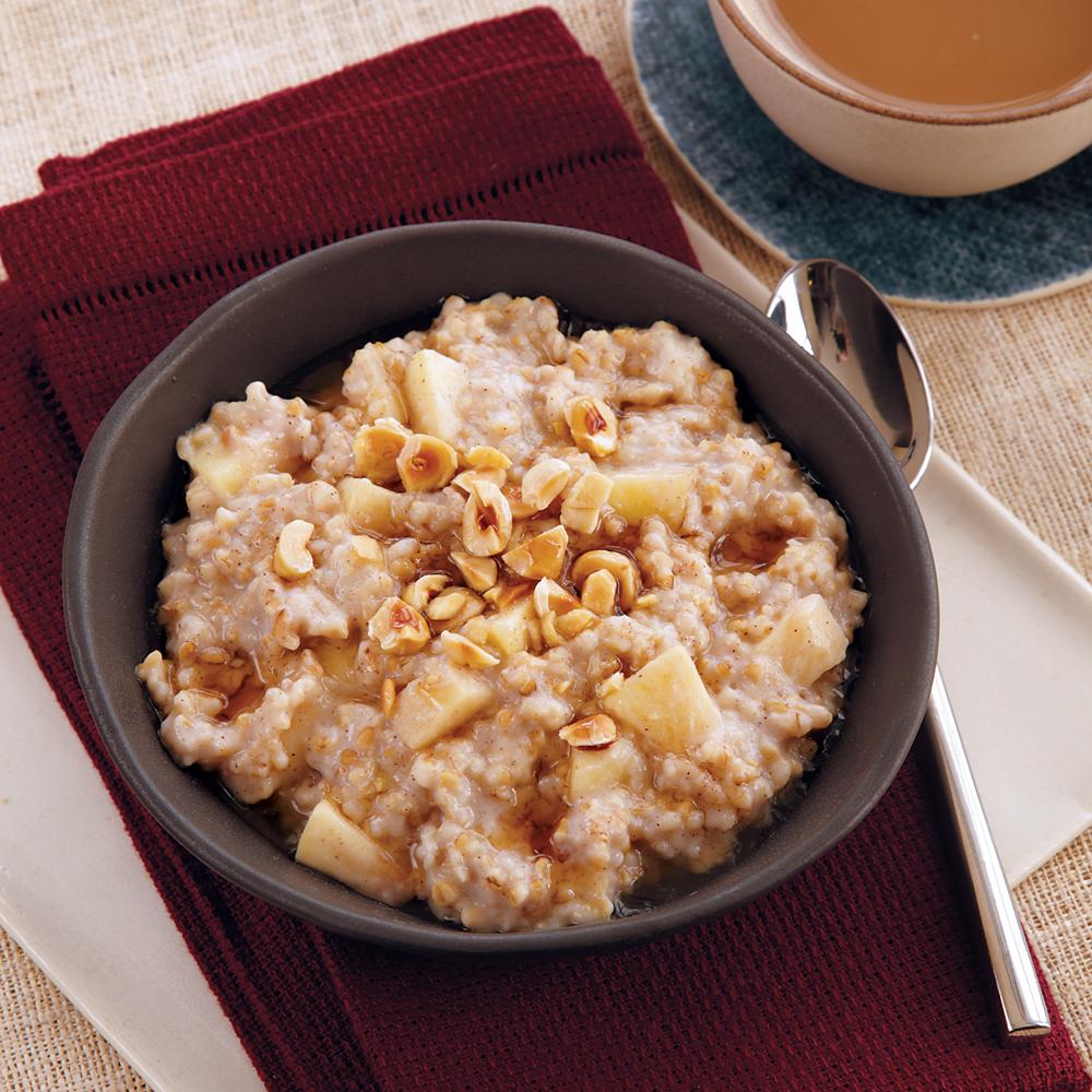 Maple-Hazelnut Oatmeal
