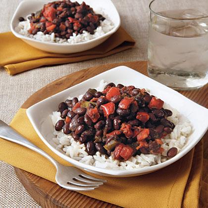 Cuban Beans and RiceRecipe