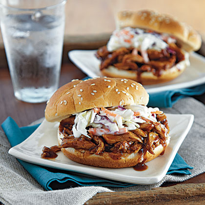 Pork and Slaw Sandwiches