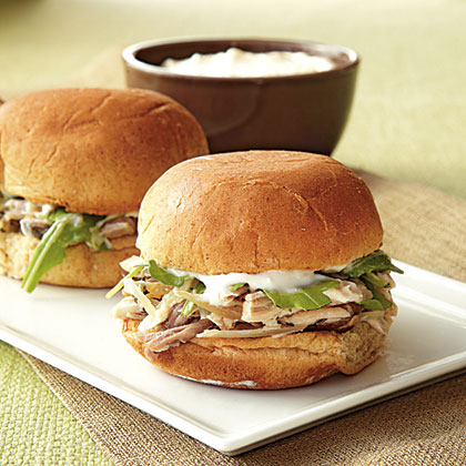 Rosemary Pork Sliders with Horseradish Aioli Recipe